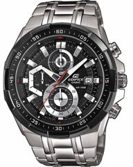 Casio EFR-539D-1AVUEF Edifice Chronograph Stainless Steel Watch - Κοσμηματοπωλείο Goldy