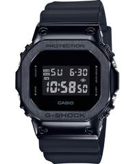 Casio GM-5600B-1ER G-Shock Chronograph Black Rubber Strap - Κοσμηματοπωλείο Goldy