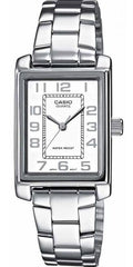 CASIO LTP-1234PD-7BEF Lady's Stainless Steel Watch - Jewelry Goldy