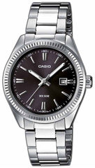 CASIO LTP-1302PD-1A1VEF Lady's Stainless Steel Watch - Jewelry Goldy