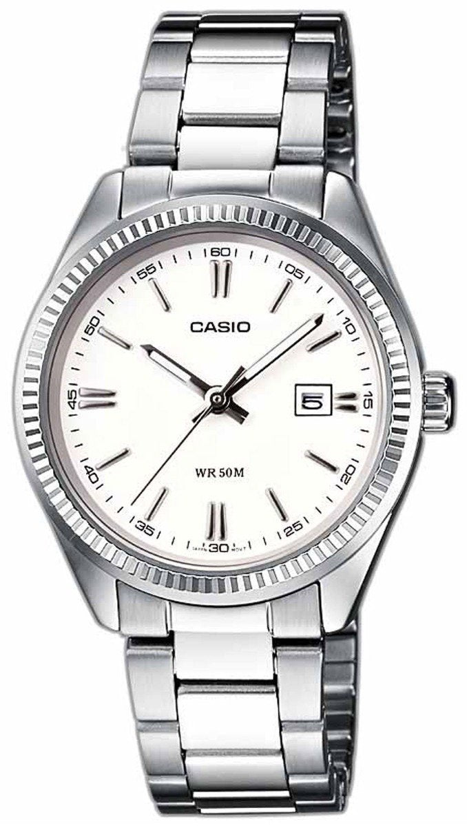 CASIO LTP-1302PD-7A1VEF Lady's Stainless Steel Watch - Κοσμηματοπωλείο Goldy