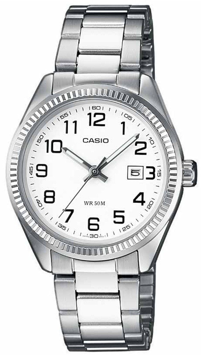 Casio LTP-1302PD-7BVEF Lady's Stainless Steel Watch - Κοσμηματοπωλείο Goldy