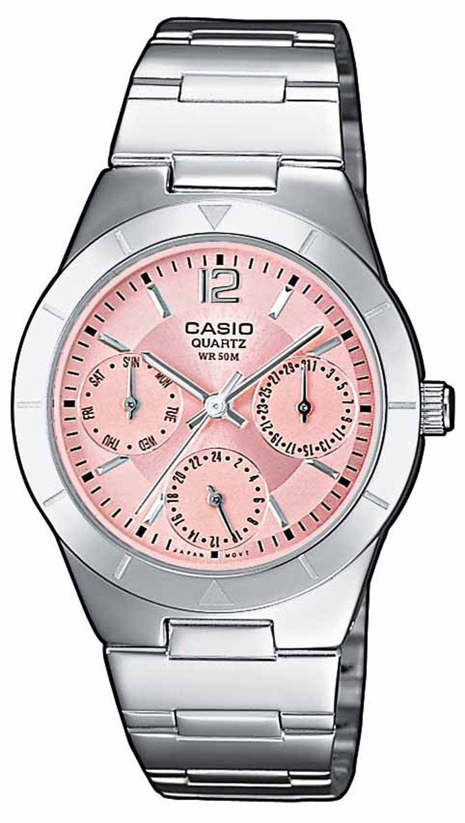 CASIO LTP-2069D-4AVEF Collection Stainless Steel Watch - Κοσμηματοπωλείο Goldy