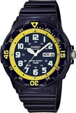 CASIO MRW-200HC-2BVEF Collection Blue Rubber Strap - Κοσμηματοπωλείο Goldy