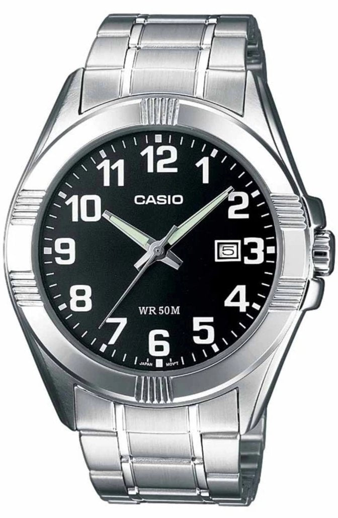CASIO MTP-1308PD-1BVEF Stainless Steel Watch - Κοσμηματοπωλείο Goldy