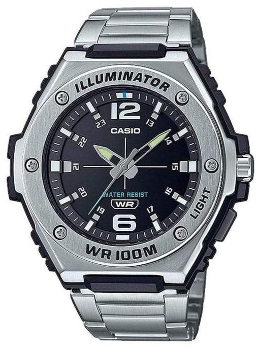 CASIO MWA-100HD-1AVEF Collection Stainless Steel Bracelet - Jewelry Goldy