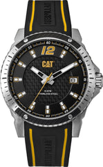 CATERPILLAR CB14121137 Carbon Blade Black Rubber Strap - Goldy Jewelry