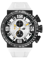 CATERPILLAR DT16320211 DT 50 White Rubber Strap - Κοσμηματοπωλείο Goldy