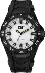 CATERPILLAR LH11021221 Motion 2020 Black Rubber Strap - Goldy Jewelry