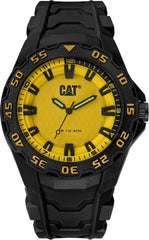 CATERPILLAR LH11021727 Motion 2020 Black Rubber Strap - Κοσμηματοπωλείο Goldy