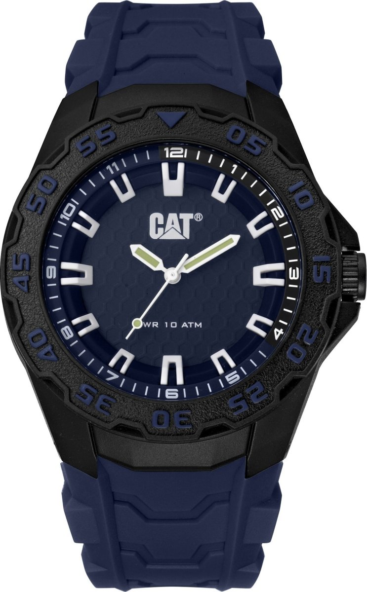 CATERPILLAR LH11026622 Motion 2020 Blue Rubber Strap - Goldy Jewelry