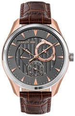 Cerruti CRA29902 Canazei Brown Leather Multifunction - Κοσμηματοπωλείο Goldy