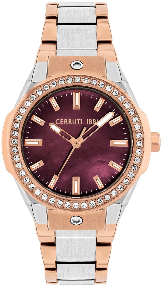Cerruti CRM29407 Ruscello Two Tone Stainless Steel Bracelet - Jewelry Goldy
