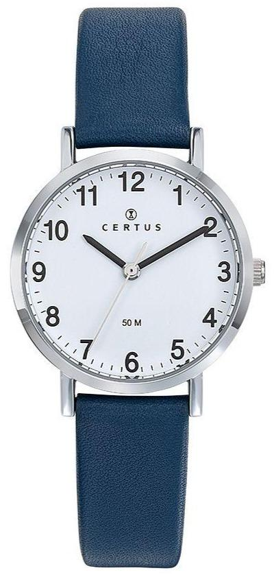 Certus 644445 Blue Leather Strap - Goldy Jewelry