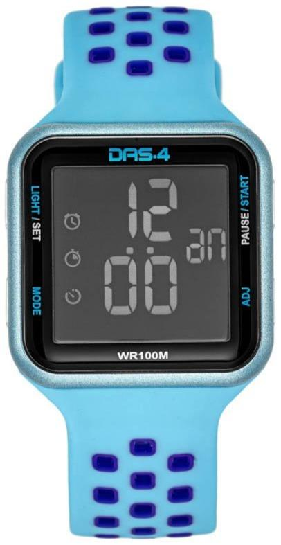 DAS.4 40014 Watch Blue LCD LD18 - Goldy Jewelry Store