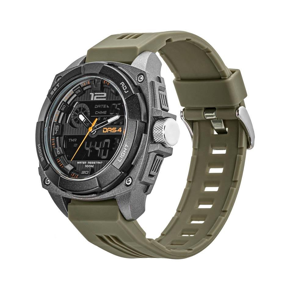 DAS.4 40049 Green LCD Watch LD11 - Goldy Jewelry Store