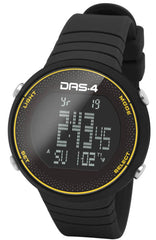 DAS.4 60011 Mountain Edition FT06 Black Rubber Strap - Κοσμηματοπωλείο Goldy