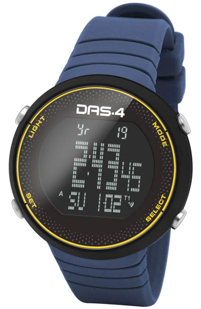 DAS.4 60014 Mountain Edition FT06 Blue Rubber Strap - Goldy Jewelry