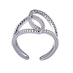 RS2828W Ring Platinum Plating - Goldy Jewelry Store