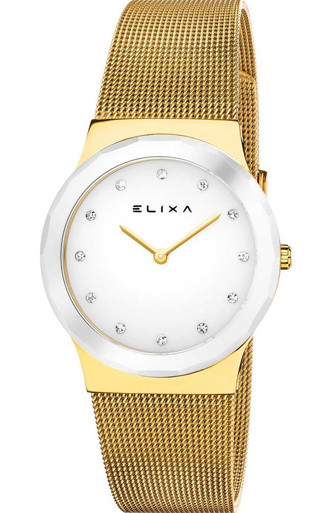 ELIXA E101-L398 Beauty Gold Stainless Steel Bracelet - Κοσμηματοπωλείο Goldy