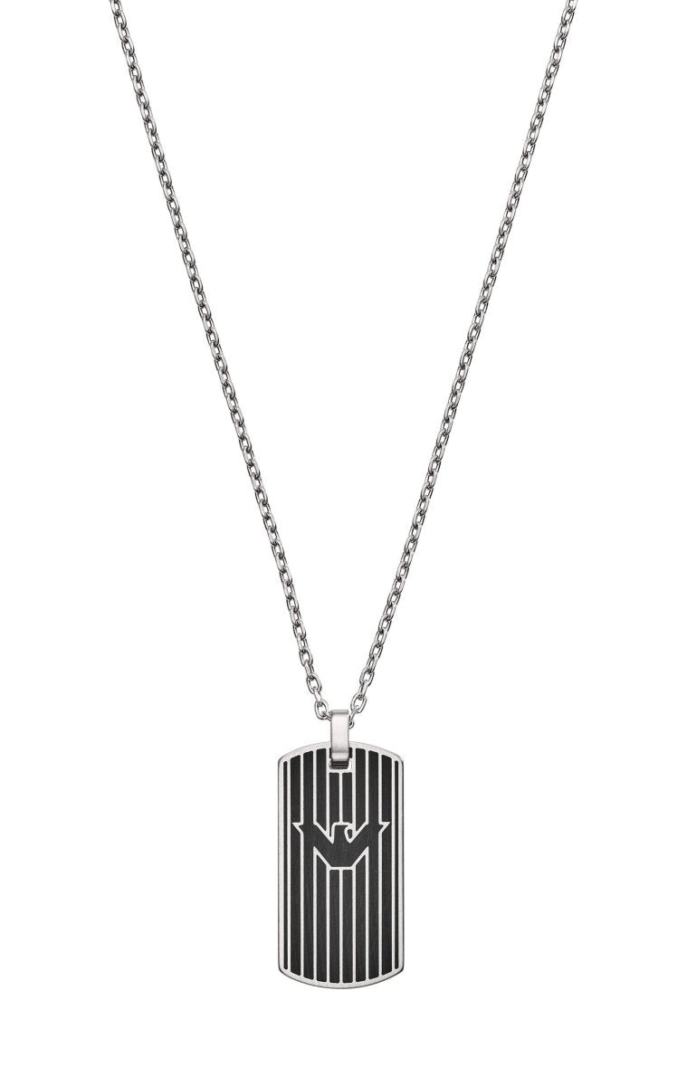 Emporio Armani EGS2724040 Men's Stainless Steel Necklace - Goldy Jewelry Store