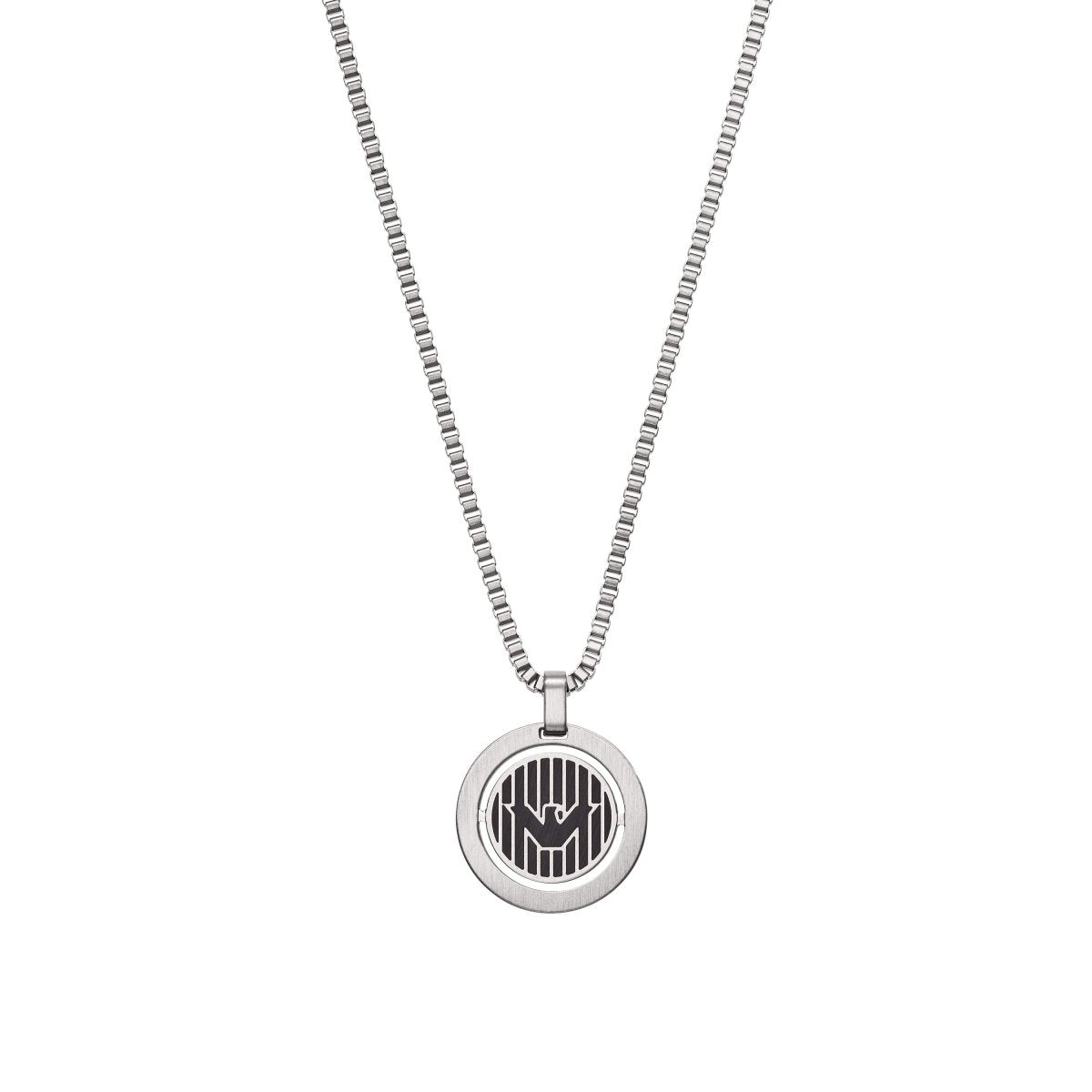 Emporio Armani EGS2725040 Men's Stainless Steel Necklace - Goldy Jewelry Store