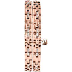 Emporio Armani EGS2729221 Rose Gold Plated Steel Bracelet - Goldy Jewelry Store