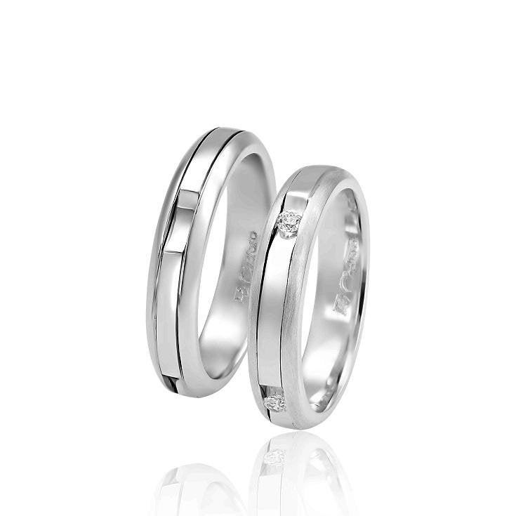 FaCad'oro WR-25 14ct Gold Wedding Rings - Goldy Jewelry Store