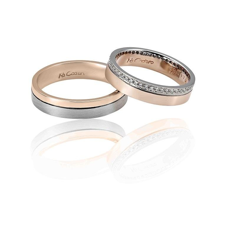 FaCad'oro WR-33 14ct Gold Wedding Rings - Goldy Jewelry Store