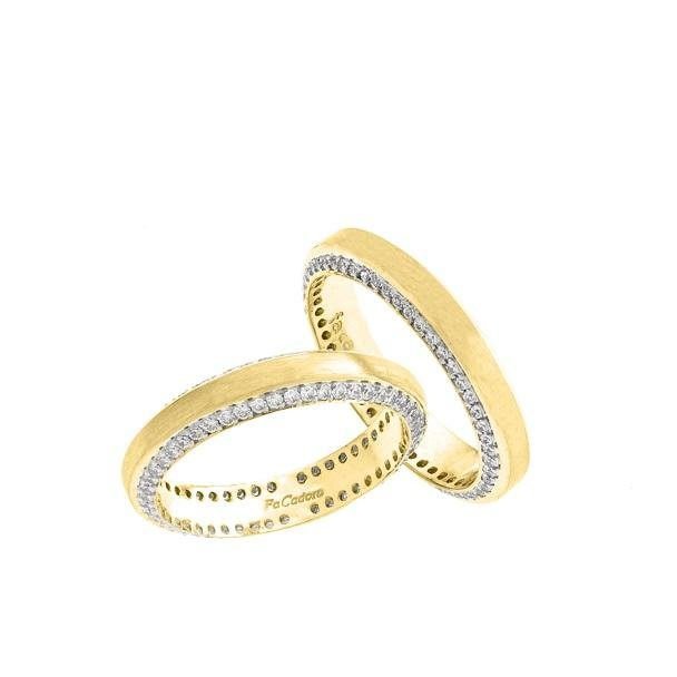FaCad'oro WR-36PB2 14ct Gold Wedding Ring - Goldy Jewelry Store
