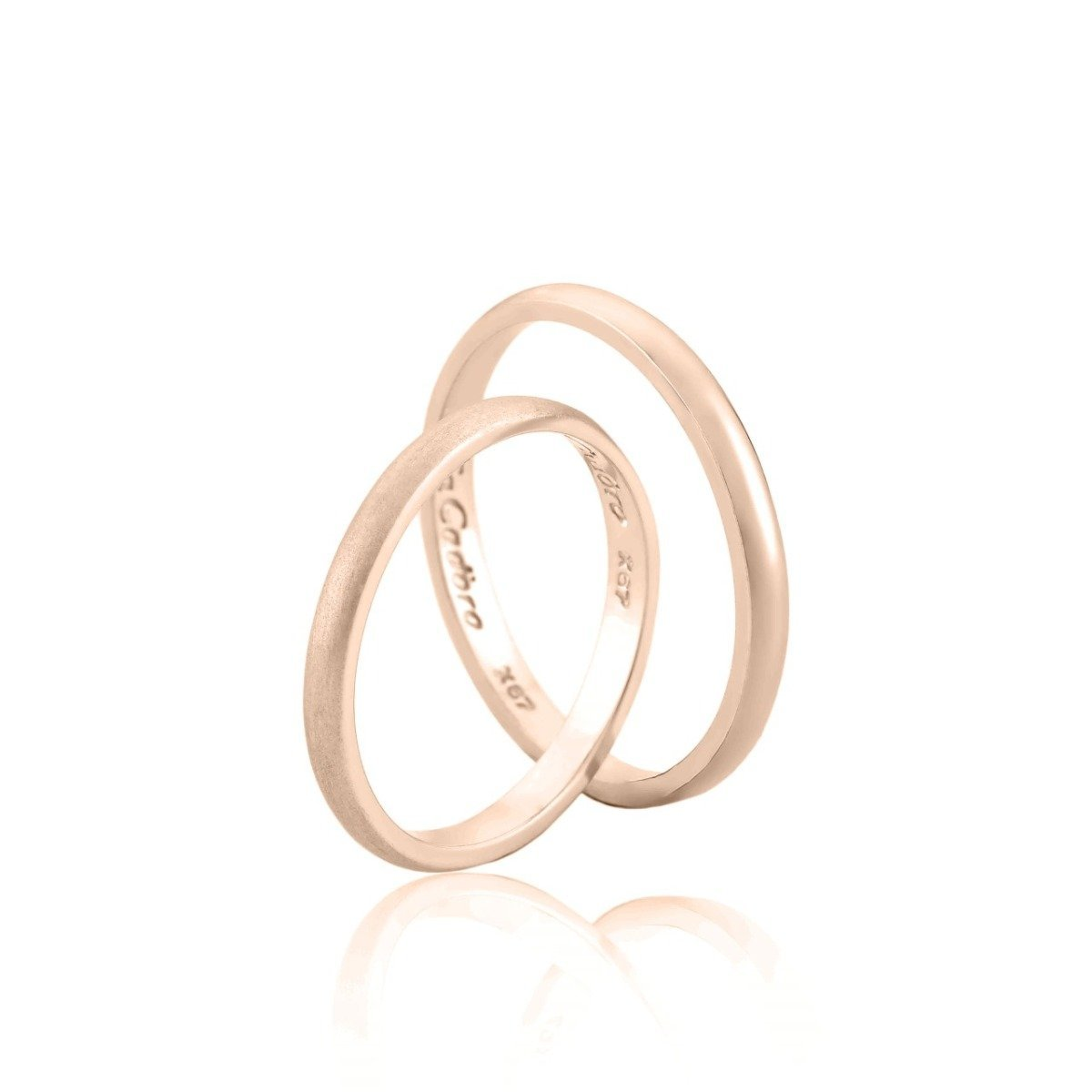 FaCad'oro WR-38 14ct Gold Wedding Ring - Goldy Jewelry Store