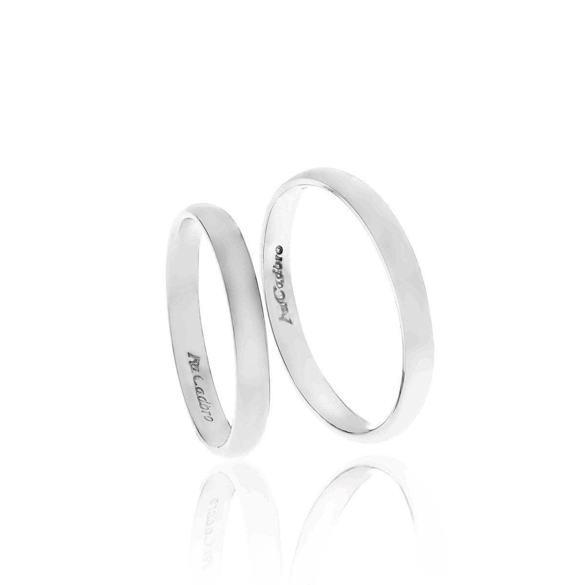 FaCad'oro WR-45 14ct Gold Wedding Ring - Goldy Jewelry Store