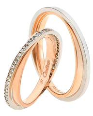 FaCad'oro WR-52 14ct Gold Wedding Ring - Goldy Jewelry Store