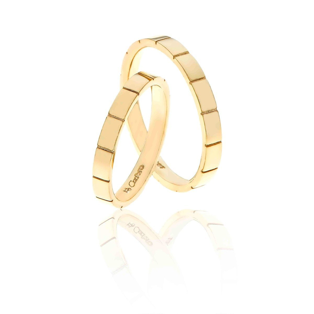 FaCad'oro WR-53 14ct Gold Wedding Ring - Goldy Jewelry Store