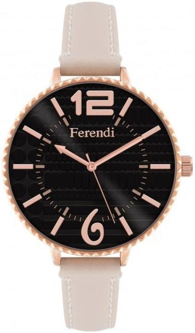 Ferendi 7460R-13 Inaly Beige Leather Strap - Goldy Jewelry