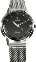 Fonderia P-8A017UNS The Professor II Automatic Stainless Steel Bracelet - Jewelry Goldy