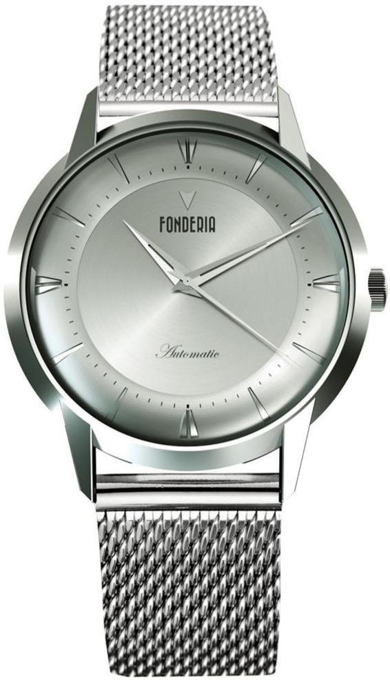 Fonderia P-8A017USS The Professor II Automatic Stainless Steel Bracelet - Κοσμηματοπωλείο Goldy