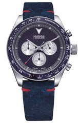 Fonderia P-9A011UBS Saltspeeder Blue Leather Chronograph - Jewelry Store Goldy
