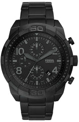 FOSSIL FS5712 Bronson Black Stainless Steel Chronograph - Goldy Jewelry