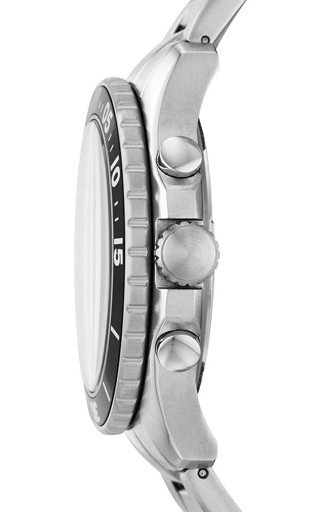 FOSSIL FS5725 FB-03 Silver Stainless Steel Chronograph - Goldy Jewelry