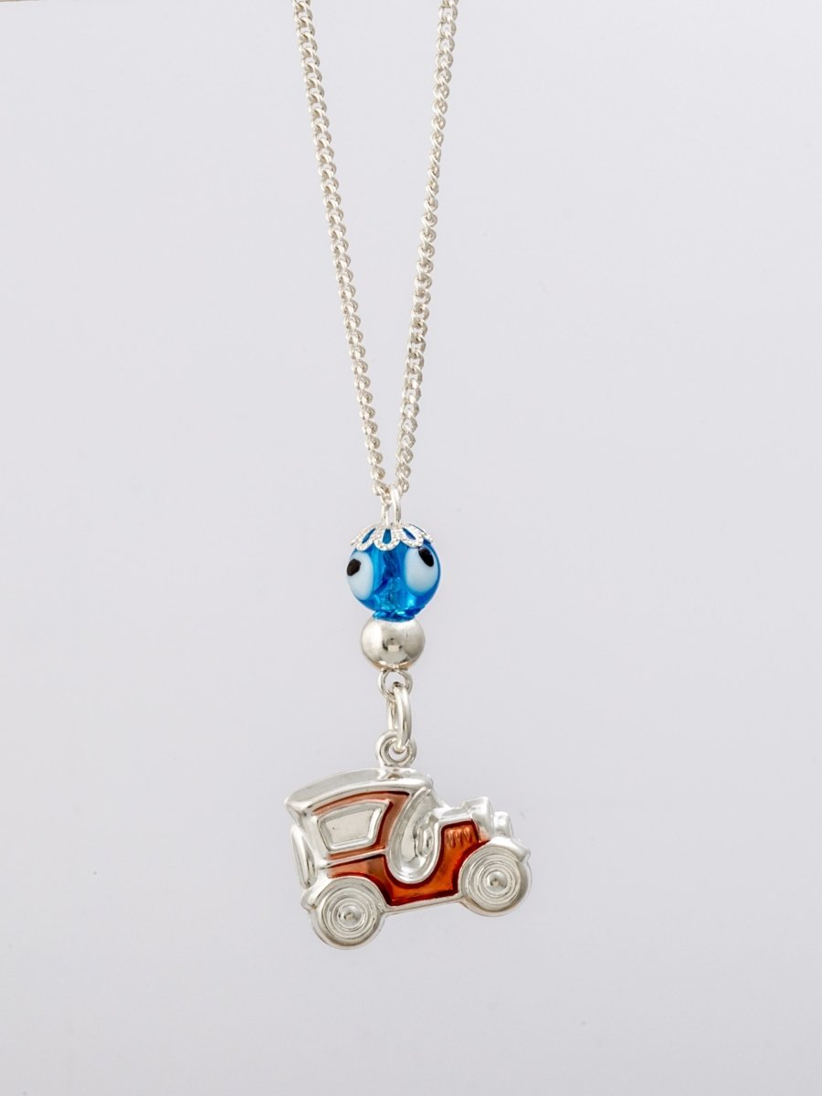 Car Amulet RZ61 Silver Car - Goldy Jewelry Store