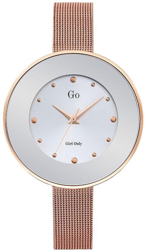 GO Girl Only 695220 Rose Gold Stainless Steel Bracelet - Κοσμηματοπωλείο Goldy