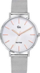 GO Girl Only 695998 Silver Stainless Steel Bracelet - Κοσμηματοπωλείο Goldy