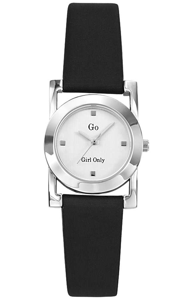 GO Girl Only 697301 Black Leather Strap - Jewelry Goldy