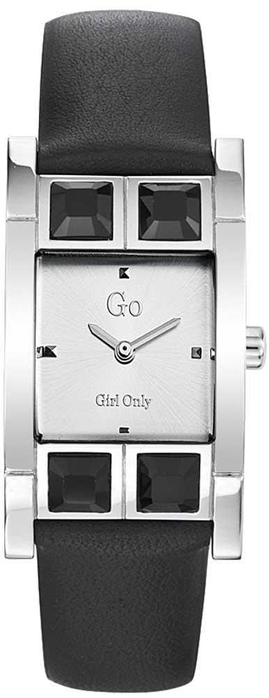 GO Girl Only 697681 Black Leather Strap - Κοσμηματοπωλείο Goldy