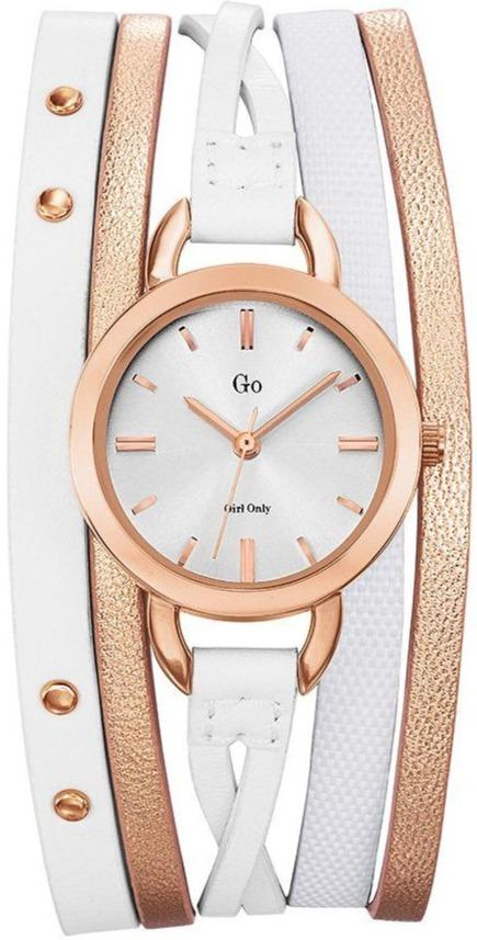 GO Girl Only 698577 Two Tone Leather Strap - Goldy Jewelry
