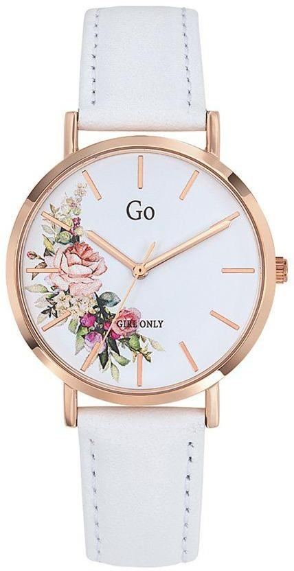 GO Girl Only 699257 White Leather Strap - Goldy Jewelry