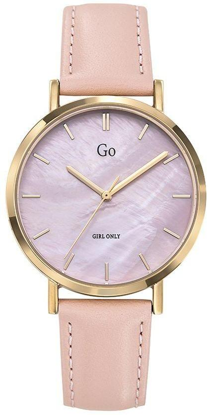 GO Girl Only 699335 Beige Leather Strap - Goldy Jewelry