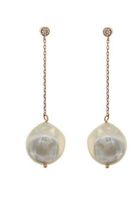 JOOLS SAE5408.3 Silver Earrings with Pearls - Goldy Jewelry Store