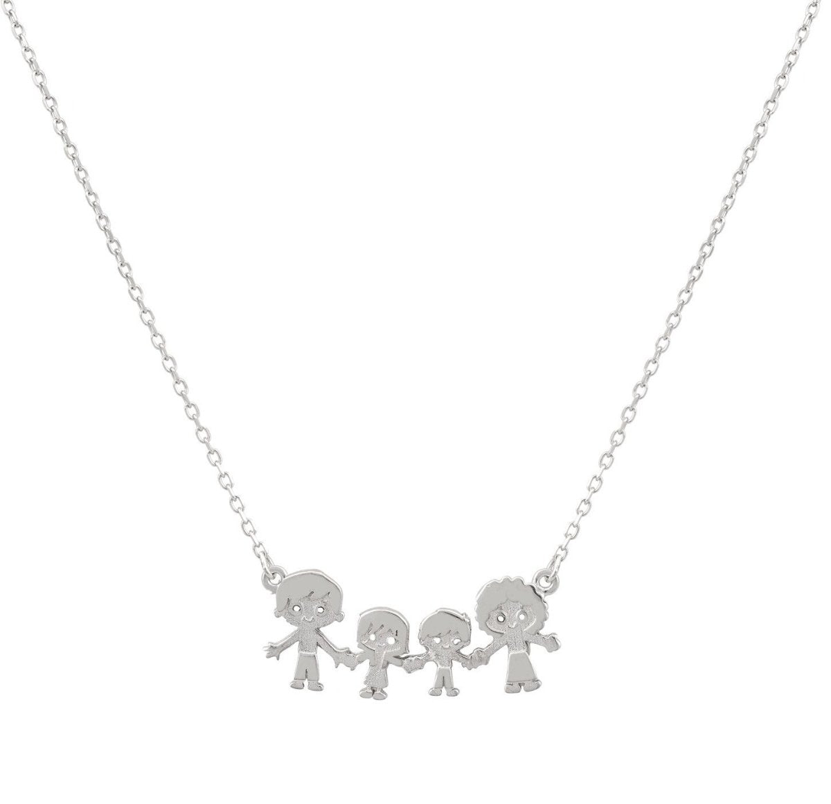 G5604W Necklace with Platinum Plating - Goldy Jewelry Store